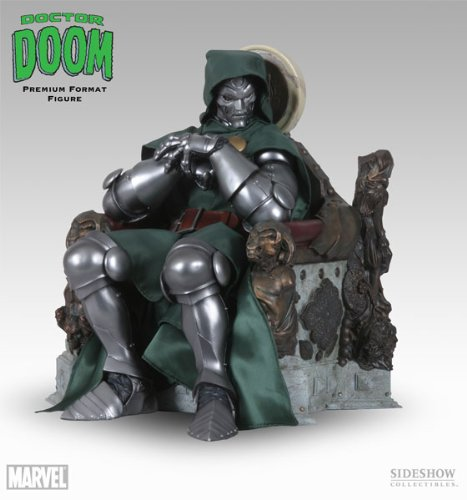Buy Low Price Sideshow MARVEL Polystone Collectibles: Doctor Doom Premium Format Figure Sideshow Collectibles! (B001M4LQVA)