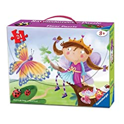 [Best price] Puzzles - Princess Puzzle in a Suitcase Box, 24-Piece - toys-games