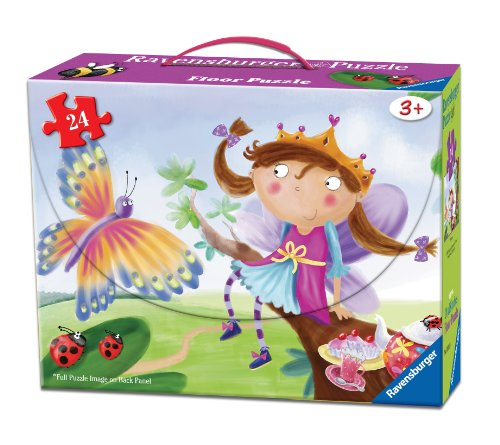 Princess Puzzle In A Suitcase Box, 24-Piece