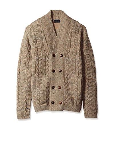 Bobby Jones Men's Wool Cable Cardigan Sweater