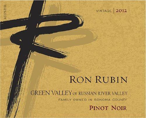 2012 Ron Rubin Green Valley Of Russian River Valley Pinot Noir 375 Ml