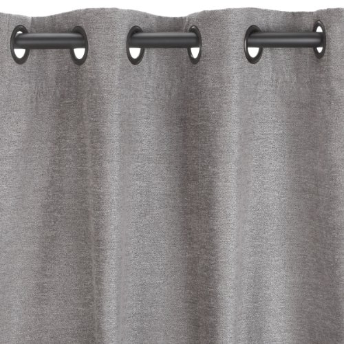 Umbra Valentina 50-Inch by 84-Inch Drapery Panel, Pewter