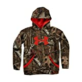 Under Armour Boys' Camouflage Big Logo Hoodie Youth Large Mossy Oak Break-Up Infinity