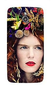 ZAPCASE PRINTED BACK COVER FOR INFOCUS M2- Multicolor
