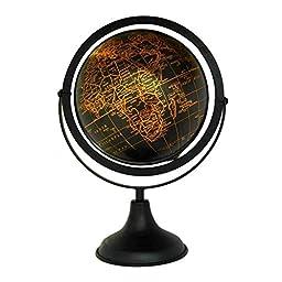 Unique Design Desktop Rotating Globe World Ocean Earth Geography Table Decor 14\