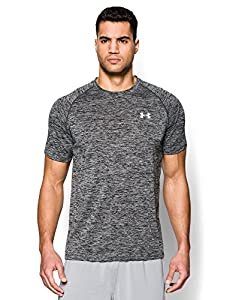 Men's Under Armour Tech Short Sleeve T-Shirt, Black, LG