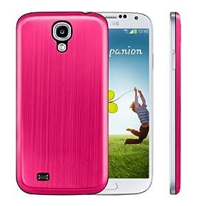 kwmobile® Akku-Deckel aus gebürsteten Aluminium für das Samsung Galaxy S4 i9505 / i9506 LTE+, Pink