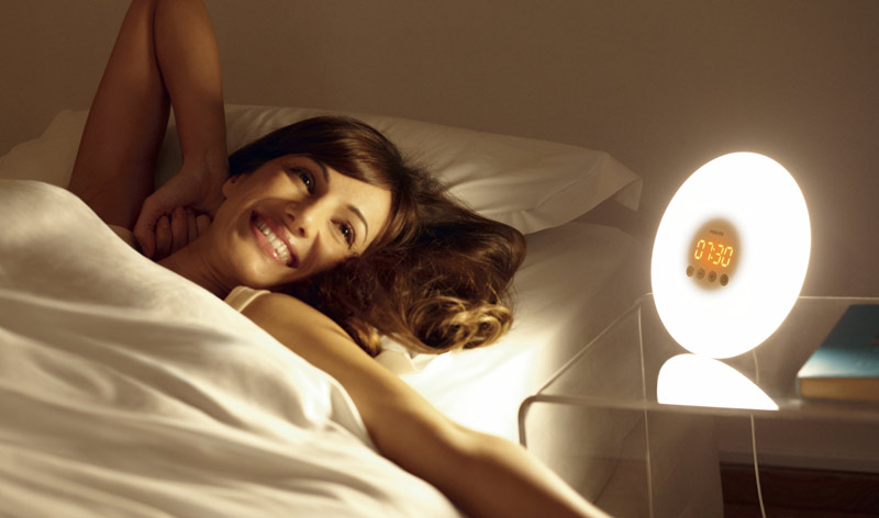 new philips hf3500 60 wake up light alarm clock ebay. Black Bedroom Furniture Sets. Home Design Ideas