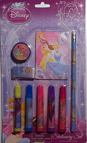 Disney Princess 9 Piece Stationery Set - 1