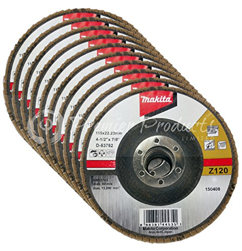 makitar-10-pack-abrasive-angled-flap-disc-4-1-2-x-7-8-inch-z120-for-metal-stainless-steel-non-ferrou