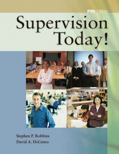 Supervision Today!, 5/e & Self-Assessment Library v.3.0 Package (5th Edition)