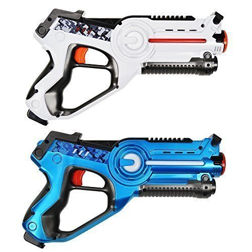 Best Laser Tag Toys : Dynasty toys laser tag set for kids pack and carrying