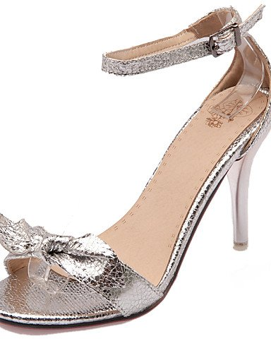 zapatos-de-mujer-tacon-stiletto-punta-abierta-sandalias-vestido-semicuero-negro-plata-oro-golden-us9