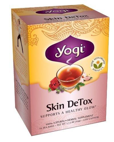 Yogi Skin Detox Tea, 16 Tea Bags (Pack Of 6) Home & Kitchen
