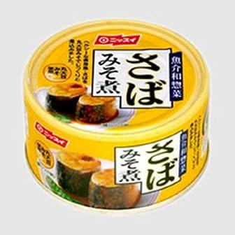 ニッスイ さば味噌煮 190g×24個