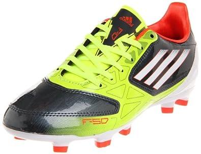 adidas F10 TRX FG Soccer Cleat (Little Kid/Big Kid),Phantom/Electricity/High Energy,2.5 M US Little Kid