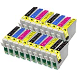18 Compatible Epson 16 XL Series Ink Cartridges for Epson WorkForce Printers WF-2010W WF-2510WF WF-2520NF WF-2530WF WF-2540WF