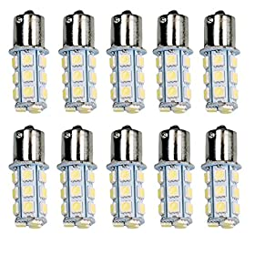HOT SYSTEMu2122 1156 7506 1003 1141 LED SMD 18 LED Bulbs Interior RV Camper White 10-pack