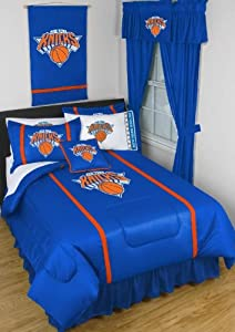 New York NY Knicks Bed In A Bag Set by Sports Coverage