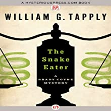 The Snake Eater (       UNABRIDGED) by William G. Tapply Narrated by Stephen Hoye