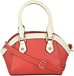 Moda King Women's Handbags (Red) (ModaKing037_B)