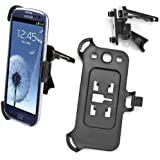 Galaxy S4 (i9500) Car Air Vent Holder, Car Mount, Black | Accessories for Samsung Galaxy S4 by iChoose®