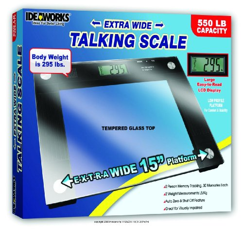Cheap Extra Wide Talking Scale  Talking Scale Glass 15X12   1 EACH  1. Buy Low Price Funny Talking Scale  B004I0B516    Health Monitor Mart