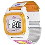 Freestyle Women's FS84860 Shark Clip Digital Taupe Neon Nylon Watch