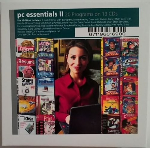 Pc Essentials 2 - 20 Programs on 13 Cd's - Business