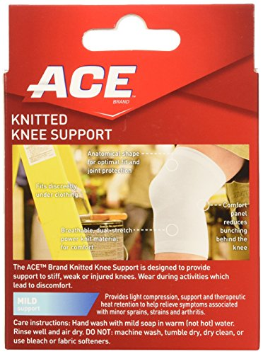 Ace Knitted Knee Support Small Pack Of 2 051131203815
