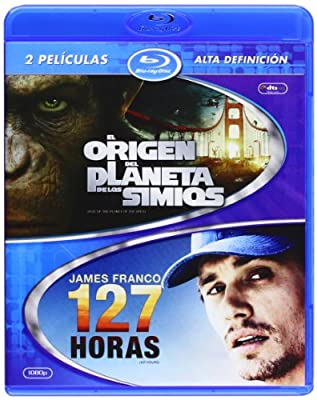 El Origen Del Planeta De Los Simios + 127 Horas (Blu-Ray) (Import Movie) (European Format - Zone B2) (2012) Ja