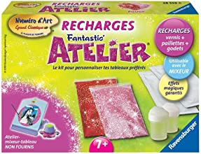 Ravensburger - 28539 - Loisir Créatif - Recharge Rouge Fantastic'Atelier N° d'art