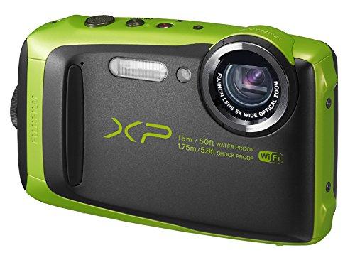 FUJIFILM デジタルカメラ XP90 防水 ライム FX-XP90LM