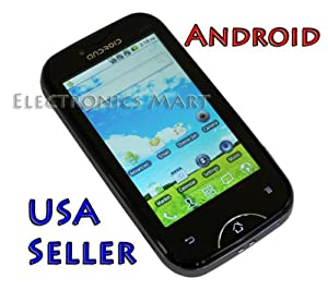 PAE6000 Unlocked Android Phone Touch Screen Dual SIM WIFI GSM Quad Band - AT&T T-Mobile No contract required