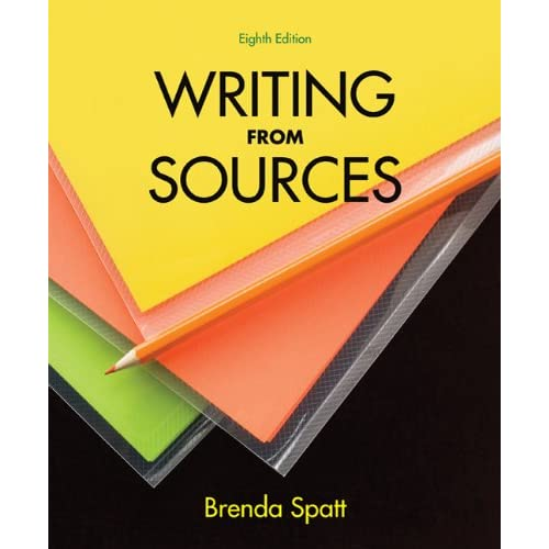 Writing From Sources (8th Ed.) Brenda Spatt PDF