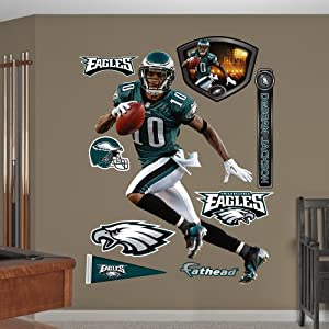 NFL Philadelphia Eagles DeSean Jackson Home Wall Graphics by Fathead