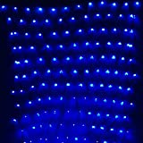 GBB 110V 204LED Mesh Net String Party Lights For Christmas and Halloween Wedding decoration. 8 different modes ( Blue 3m x 2m 9.8ft x 6.5ft ) Xmas Sale ! Shop now for best price of season!!!