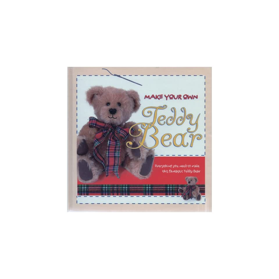 Kudos make your own teddy bear kit classic craft cases for Make your own teddy bear template