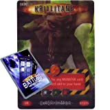 Doctor Who - Single Card : Exterminator 087 Krillitane Evolution Dr Who Battles in Time Ultra Rare Card