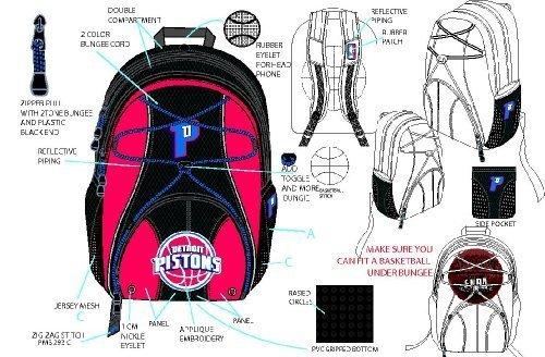 Detroit Pistons Rucksack