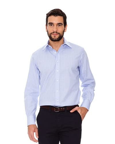 Arrow Camicia [Celeste/Bianco]