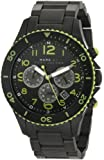 Marc-Jacobs Black Rock IP Watch MBM5026