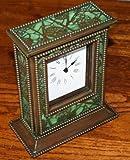 Zentrum Studios® GRAPEVINE Tiffany Studios Style Clock