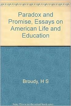 Promise essay