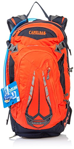 Camelbak Products Men's M.U.L.E NV Hydration Pack, Poppy/Dark Navy, 100-Ounce (Camelbak Mule Hydration Pack compare prices)