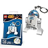 Lego Star Wars New Official R2-D2 Minifigure LED Lite Key Chain Light Torch Keyring