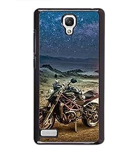 Racing Bike 2D Hard Polycarbonate Designer Back Case Cover for Xiaomi Redmi Note :: Xiaomi Redmi Note 4G