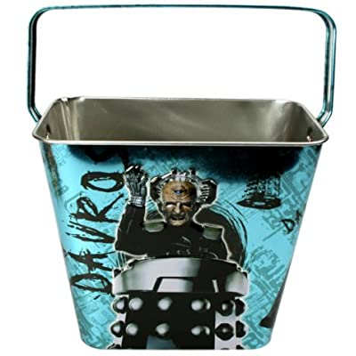Doctor Who Metal Storage Bucket X 3 - The Daleks & Davros - Price is for 3 Buckets