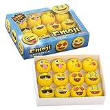 Emoji-Universe-2-Ply-Professional-Practice-Golf-Balls-12-Emoji-Balls