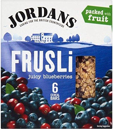 Jordans Frusli Bars Blueberry Burst (6X30G)
